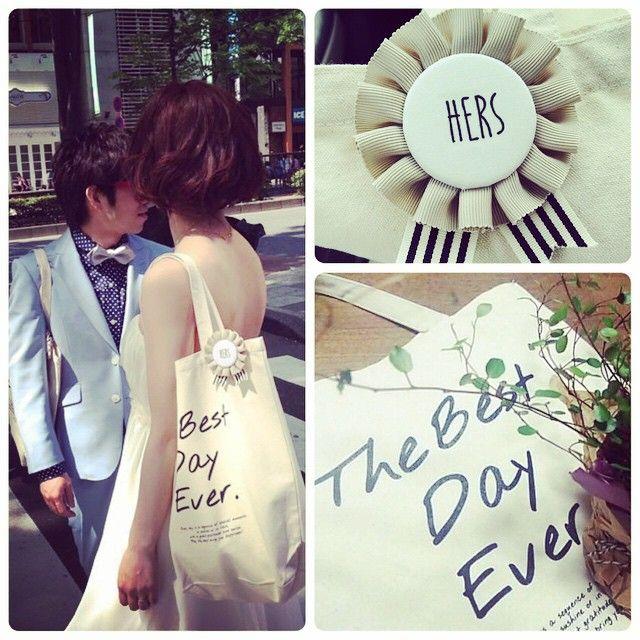 毎日のように使ってます♩ コレ使うー!って、披露宴中にも言ってくれる友達がたくさんいて、うれしかった! 今日は、これ持って仙台へ家具探し! ♩♩♩ #wedding #weddinggift #引出物 #引出物バッグ #thanksbag #サンクスバッグ #マルシェバッグ #エコバッグ #キャンバストート #ロゼット #rosette #オリジナル #オリジナルウェディング #コンセプトウェディング #20150502