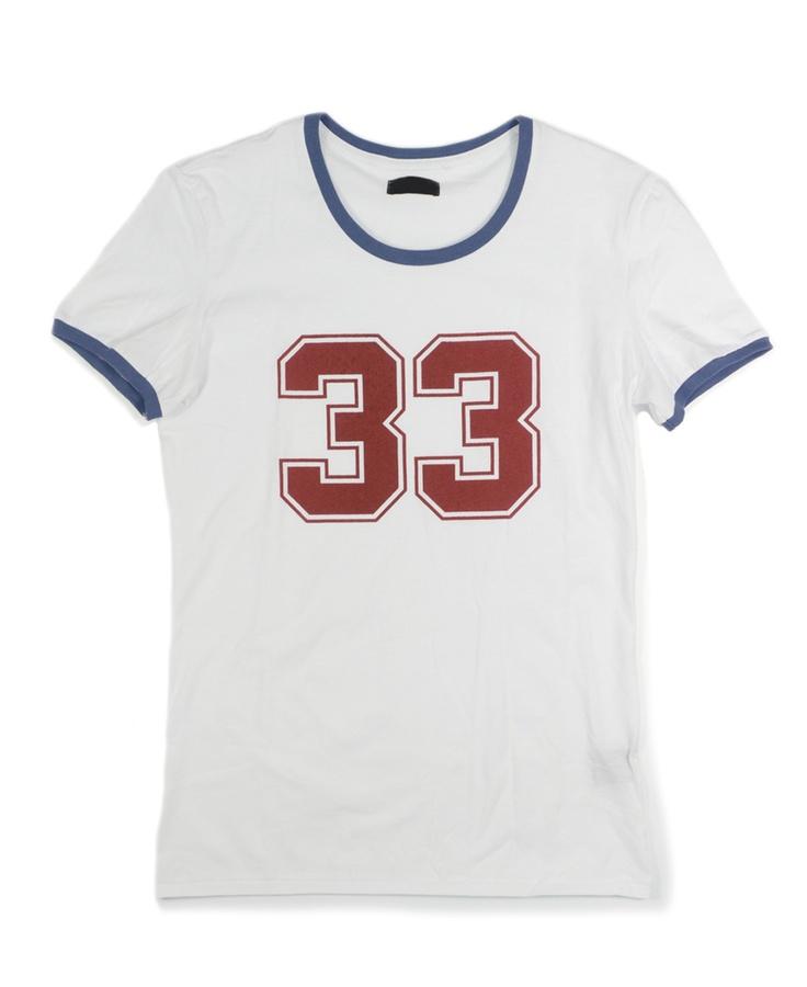 '33' Print T-shirt