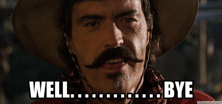 CURLY BILL MEME WELL BYE | Bill meme, Memes, Bye meme