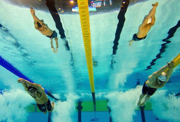 Le nuove foto dagli Europei di nuoto - Il Post