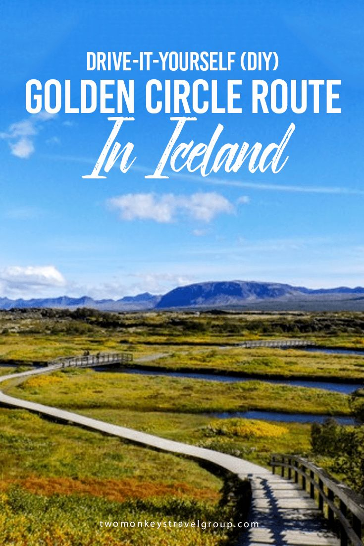 Drive-it-Yourself (DIY) Golden Circle Route In Iceland My husband and I did a Drive-it-Yourself (DIY) trip. We had a rental car from Guide to Iceland complete with all the insurances (Gravel Protection and Super Collision Damage Waiver Insurance) and Satellite Navigator (GPS).