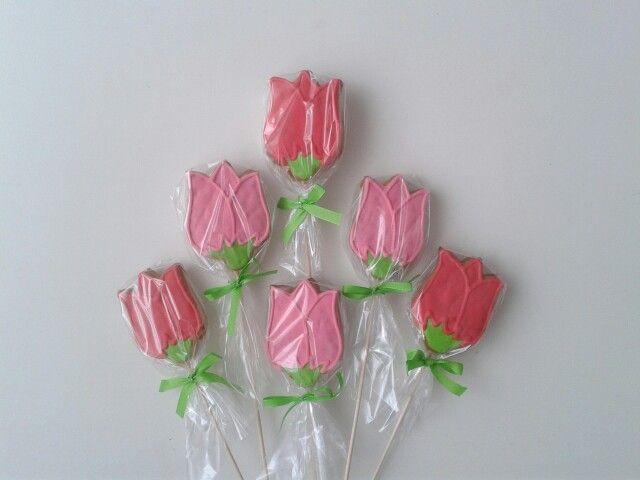 Medovníkové tulipány