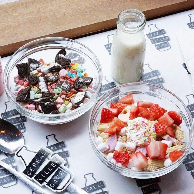 Cereal Killer Cafe // Brick Lane