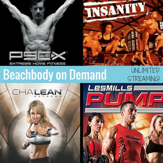 Beachbody On Demand will allow you to stream your favorite Beachbody workouts like P90X and Insanity anywhere! Get all the details and first access here!