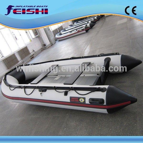 Rigid inflatable boat Aluminium Floor fishing boat for sale