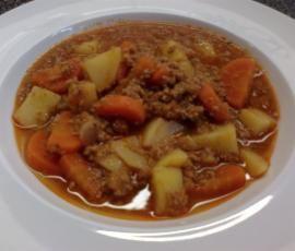 Rezept Kartoffel - Möhren - Hackfleisch - Eintopf - ähnlich dem Bauerntopf von anriechers - Rezept der Kategorie Hauptgerichte mit Fleisch