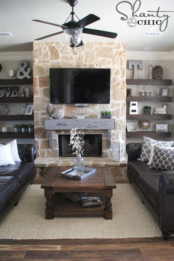 Hey guys! I have been dying to share this tutorial with you all! I built and installedthis mantel for about $100! This is a project that I have had planned since we were building our house but it seemed like it was going to be such a pain and I was worried that I would {...Read More...}