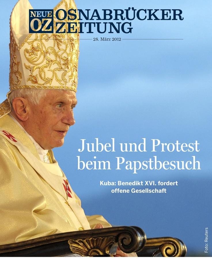 Papstbesuch: Jubel und Protest begleiten die Reise des Pontifex in Südamerika. Davon erzählt die Cover-Geschichte unserer App am 28. März. #app #ipad #apple #pope