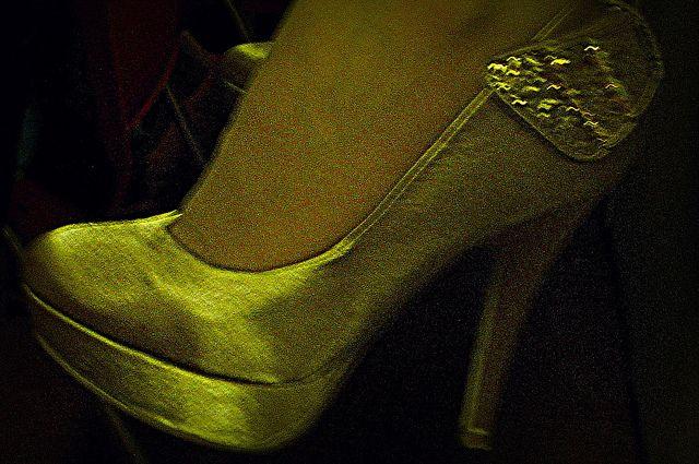 Dangling Cinderella Feet | Flickr - Photo Sharing!