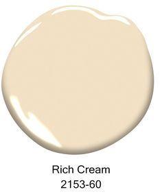 74 best colours images on pinterest color palettes for Benjamin moore rich cream