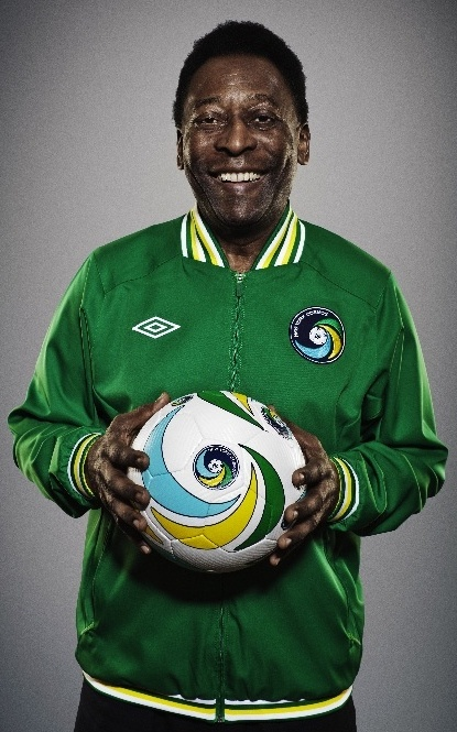 Pelé - Brazillian footballing great