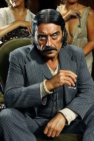 "Ian McShane as Al Swearingen in ""Deadwood"": Favorite Actor, Picturesjil Greenberg, Al Swearengen, Photography Portraits, Jill Greenberg, Deadwood Character, Male Character, Actor Ian, Character Al"