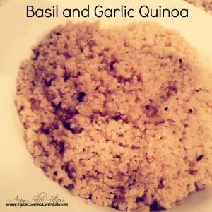 Garlic and Basil Quinoa: Garlic Quinoa, Quinoa Amyallen, Amyallen ...