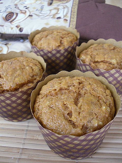 Banana Carrot Pulp Muffins made with leftover pulp from juicing carrots. You are so smart, Pinterest. UPDATE: Made these tonight with added coconut and ground flax. Tasty!