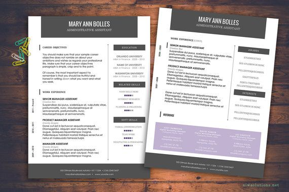 A professional resume template will help you impress more hiring managers, land more interviews, and get hired faster.   WHAT YOU HAVE  1. *.doc file ( 2 pages of resume, 1 page of cover letter) that is compatible with Word 98 through Word 2004 for Mac and Word 97 through Word 2003 for Windows. 2. *.docx file ( 2 pages of resume, 1 page of cover letter), XML-based document format for Word 2008 for Mac, Word for Mac 2011, Word 2007 for Windows, and Microsoft Word 2010 for Windows. 3. icon set for