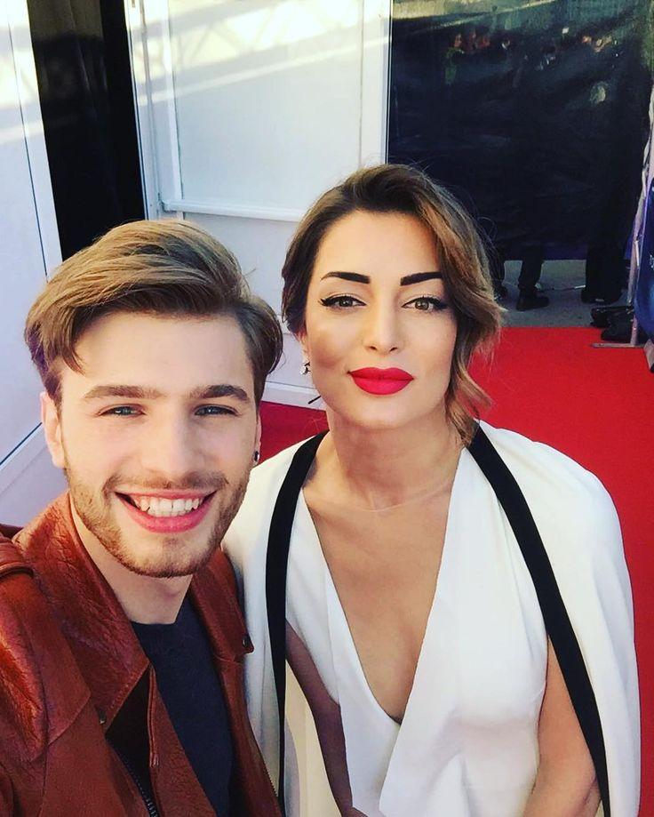 Meet gorgeous @iveta.mukuchyan from Armenia #eurovision #latvia #armenia #justsheartbeat #eurovision2016 by justs_sirmais #Eurovision #Eurovision2016