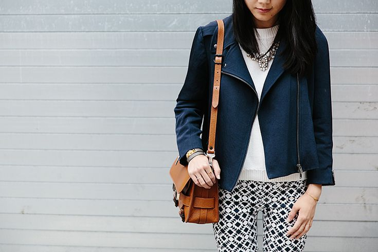 Love this look, great jacket! (from lingered upon)