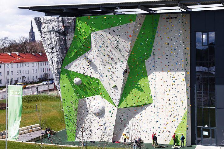 Outdoorwall Kletterzentrum DAV Neu Ulm - Walltopia - Climbing walls