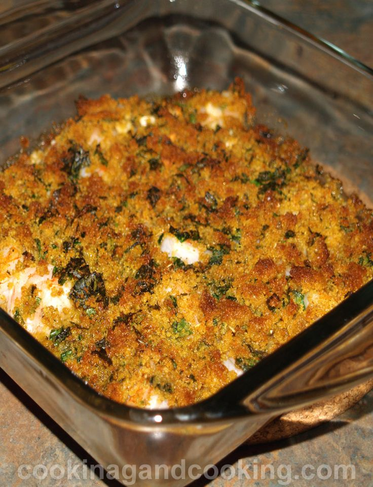 Baked Garlic Shrimp Recipe is a quick dinner recipe using shrimp, garlic and breadcrumbs, that will be ready in 30 minutes.