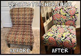 We Heart 1st: DIY Teacher Chair for the classroom