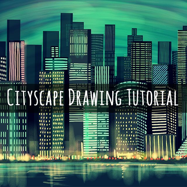 This week's Drawing Challenge has asked users to draw a cityscape using PicsArt's Drawing Tools, so this tutorial will show you how to draw a glittering metropolis for the occasion.
