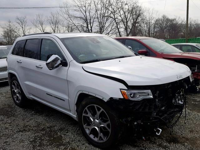 Salvage 2019 Jeep Grand Cherokee Overland Suv For Sale Salvage