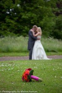 Kerri & Mike's real wedding. Fantastically colourful!