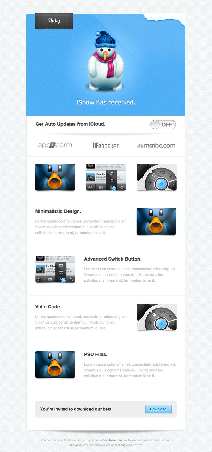 40 best images about eMail design inspiration on Pinterest | Email ...
