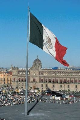 The official name of this square is the Plaza de la Constitucion, but it's commonly called the Zocalo. -- Mexico City