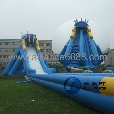 #inflatable water slide, #giant inflatable water slide, #large water slide