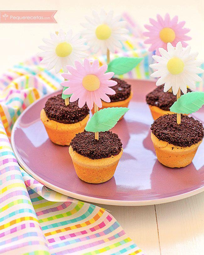 ¡Galletas con flores para el Día de la Madre!