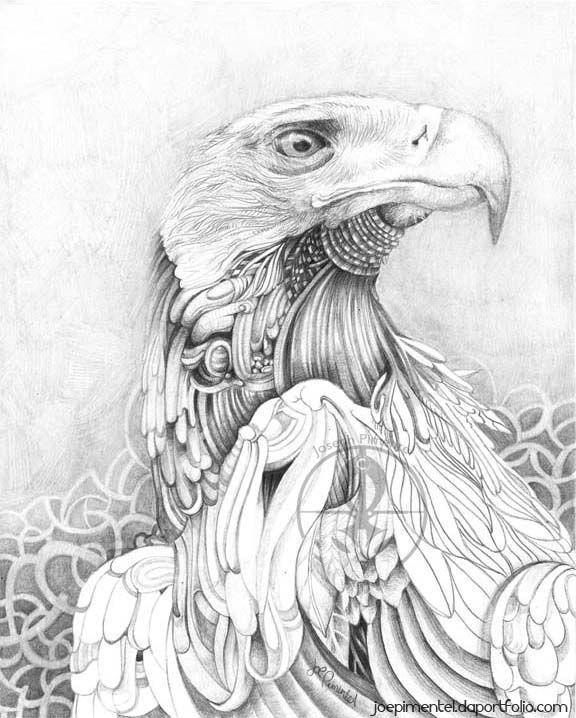 eagle ... Pencil Animal Series by Joe Pimentel at Coroflot.com