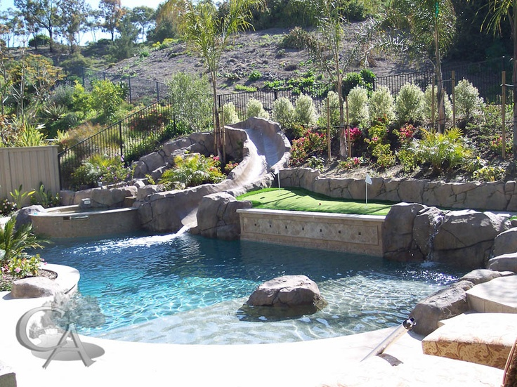 35 best outdoor rooms images on pinterest outdoor rooms for Pool design orange county ca