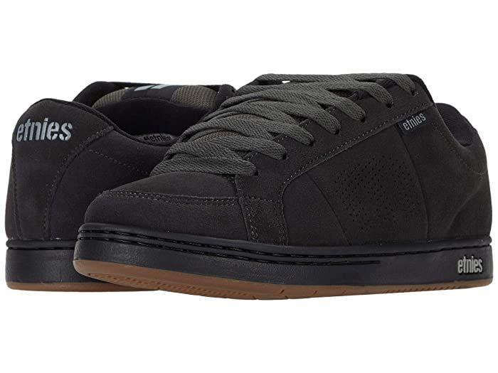 Etnies Mens Kingpin Black Black Shoes