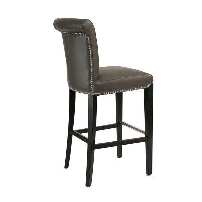 Best 25 Leather Bar Stools Ideas On Pinterest White