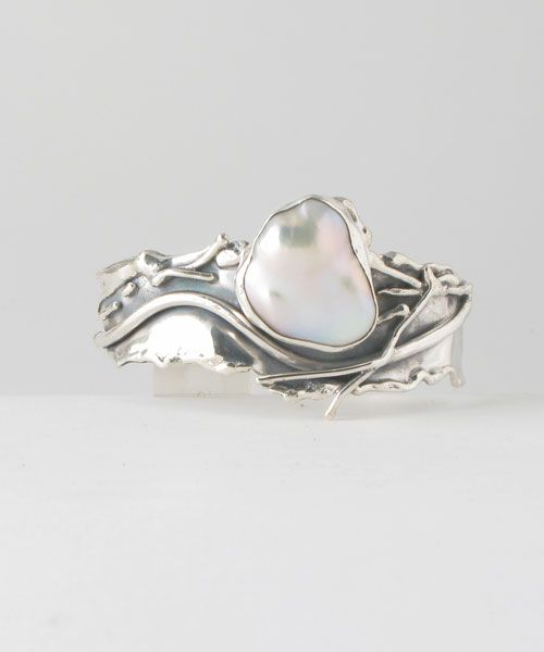Large Baroque Freshwater Pearl. Marksz.com