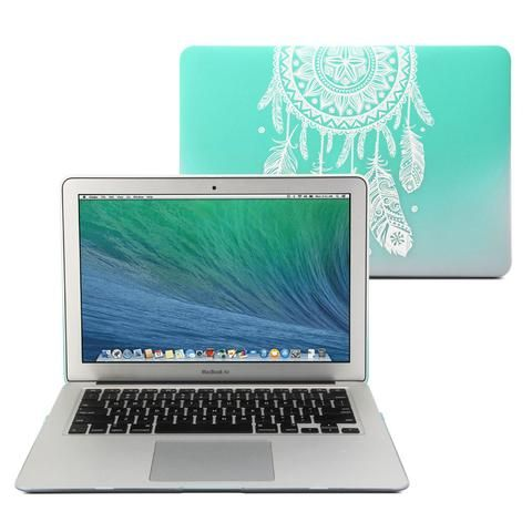 Make your dreams come true while stylishly protecting your MacBook Air. GMYLE's ultra slim, lightweight hard case features a frosted dream catcher pattern.