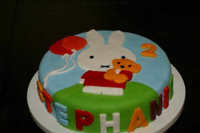 Miffy / Nijntje  Birthday Cake by Jacqueline Naerebout, via Flickr