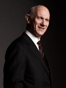 David Mirvish, named 8th chancellor of the University of Guelph in February 2012. http://www.uoguelph.ca/news/2012/02/david_mirvish_n.html