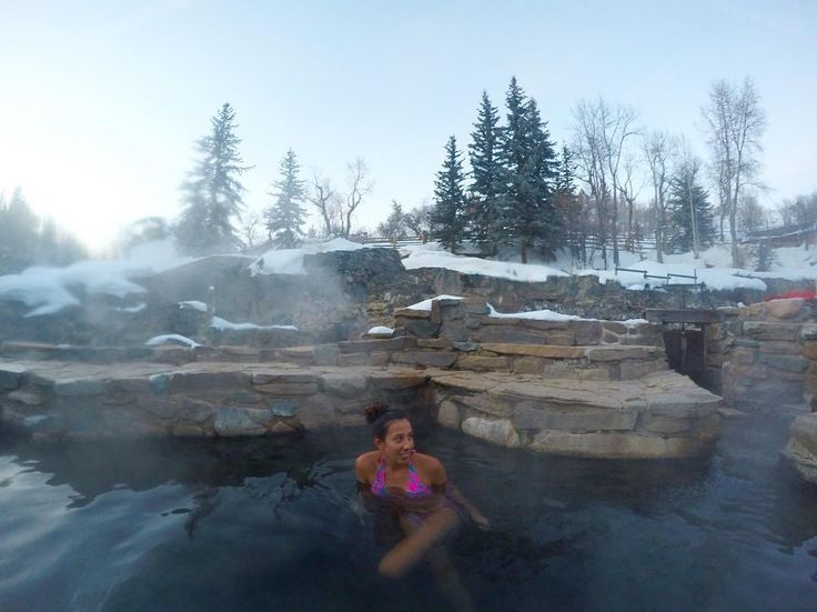 The unique experience of swimming in natural hot springs ...