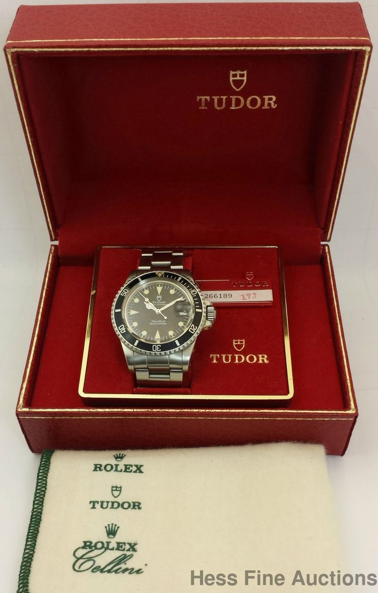 #Forsale Awesome 79090 #Rolex Tudor Prince Submariner Oysterdate Original Box Tags Watch #Auction @$3,600.00