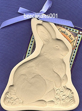 Brown Bag Cookie Mold 2001 Bunny Rabbit Incorrectly Spelled on The Back | eBay