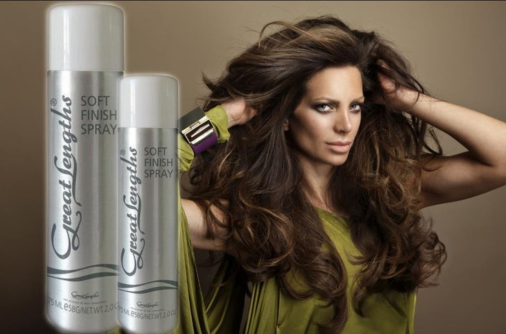 Soft Finish Spray Great Lengths Hair hairstyle (Find us on: www.facebook.com/GreatLengthsPoland)