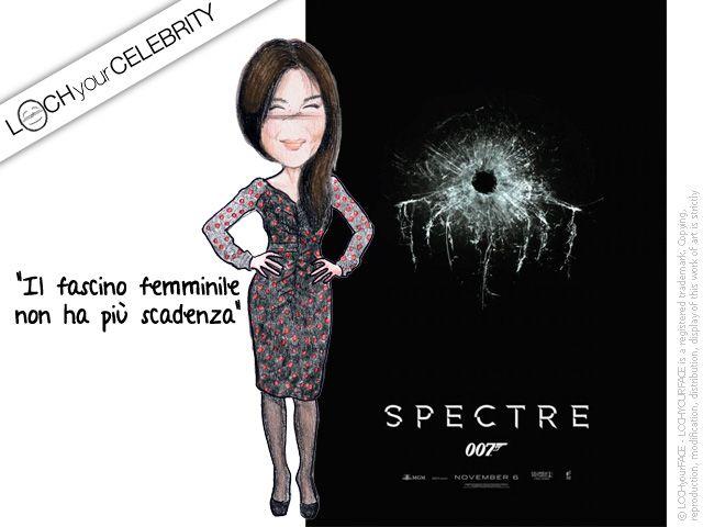 Monica Bellucci è la bond girl di Spectre, ultimo episodio della saga di 007 - E' lei la celebrity della settimana scorsa per Lochyoucelebrity