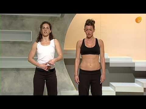 Abdominales hipopresivos para recuperar la figura después del embarazo | Aprendiendo con Julia
