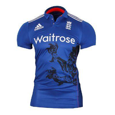 Adidas ECB 2015 England ODI Replica Cricket Shirt - Mens