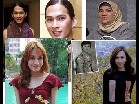 Transgender Indonesia, Artis Transgender terkenal