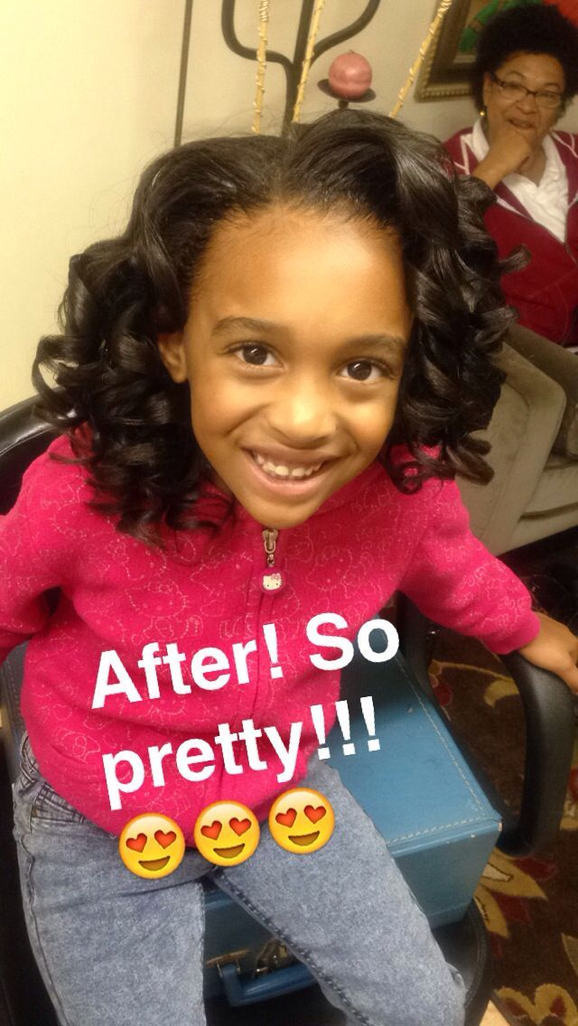 Shirley Temple Curls African American