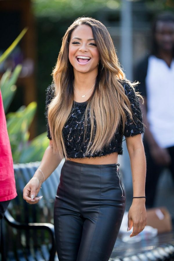 Christina Milian on the Extra Set