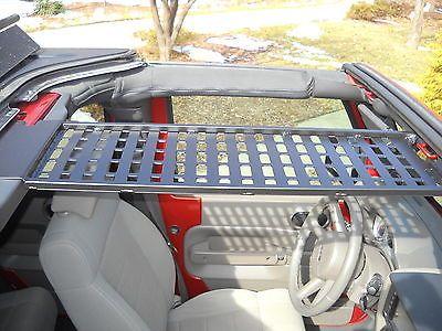 Jk Jeep Molle Quot Front Overhead Quot Storage Panel Spod